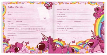 Freundebuch »Meine Freunde« für Grundschüler