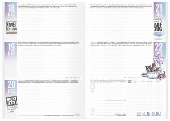 Freches Hausaufgabenheft 2017/18: Der Häfft-Planer!