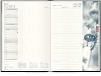 Monatsübersicht: Tageskalender »Organizer Day by Day«