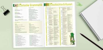 Deutsch & Geschichte: Schülerkalender »College-Timer«
