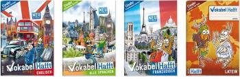 Vokabelheft für Englisch, Französisch und 11 weitere Sprachen!