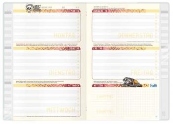 Kalendarium: »Häfft Aufgabenheft Smart« für clevere Faule!