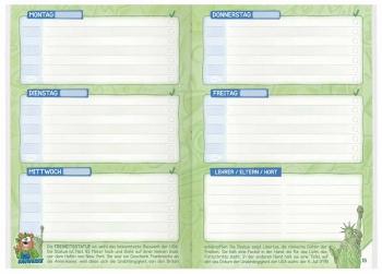 Kalendarium: Aufgabenheft für die Grundschule