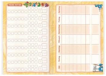 Notenliste & Stundenplan: Aufgabenheft für die Grundschule
