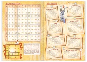 Lerntipps: Hausaufgabenheft für die Grundschule 2017/18