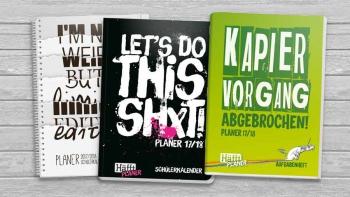 »Häfft-Planer« Hausaufgabenheft & Schülerkalender 2017/18