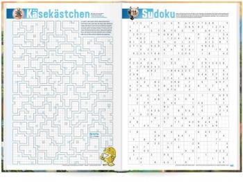 Käsekästchen & Sudoku: Das »Häfft Deluxe« Hausaufgabenheft