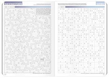Käsekästchen & Sudoku: »Häfft-Planer Pocket« Schülerkalender 2017/18