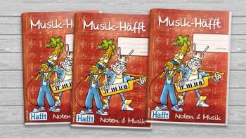 Musikheft, Notenheft »Musik-Häfft«