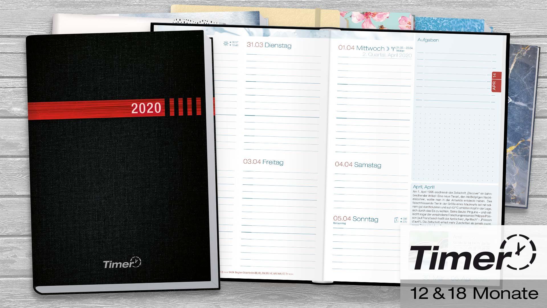 bersichtliche und sch ne kalender 2019 2020 vom h fft verlag. Black Bedroom Furniture Sets. Home Design Ideas