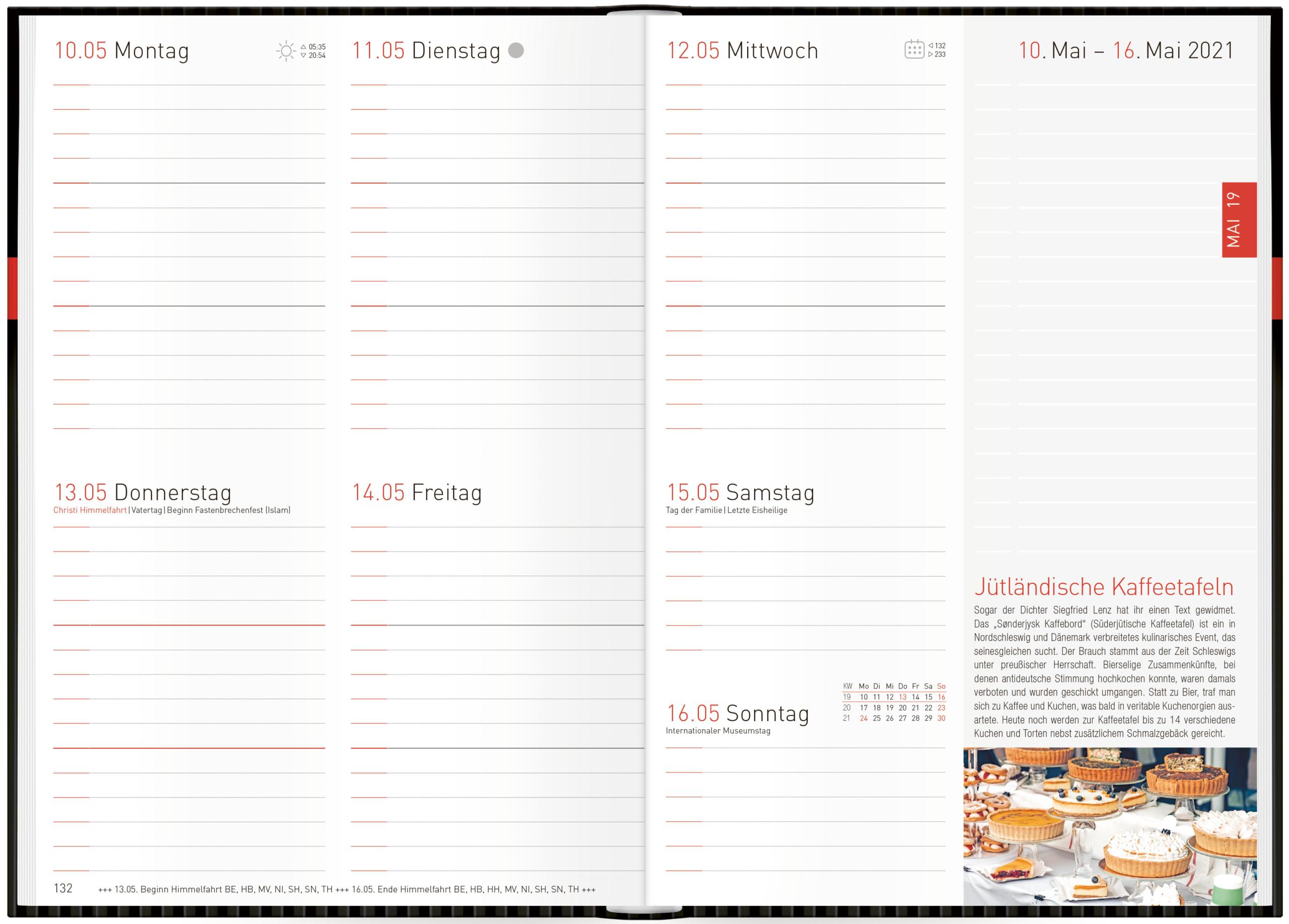 Terminkalender mit Wochenplaner Terminplaner 18 Monate: Juli 2019 bis Dezember 2020 Organizer lalala Ch/äff-Timer Mini A6 Kalender 2019//2020 Wochenkalender Top organisiert durchs Jahr!