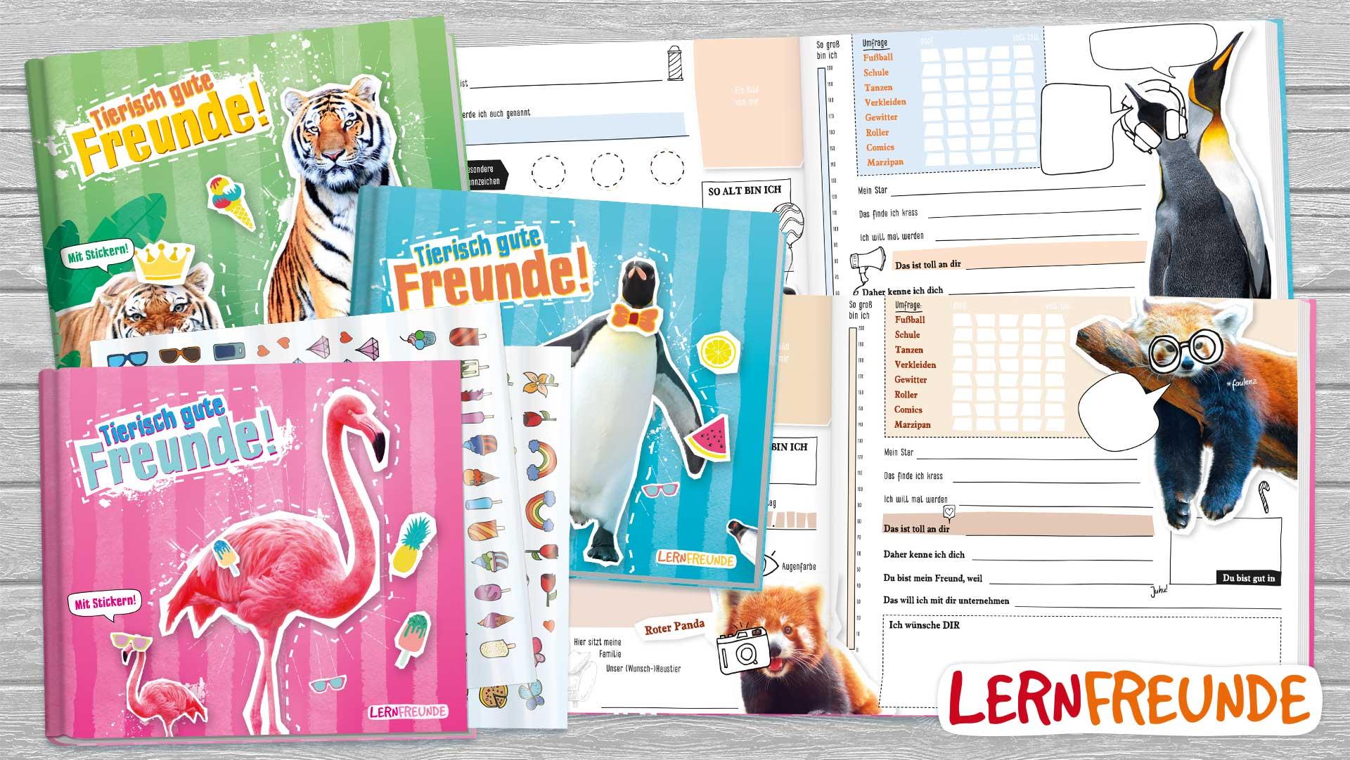 Häfft - Lernfreunde Freundebuch