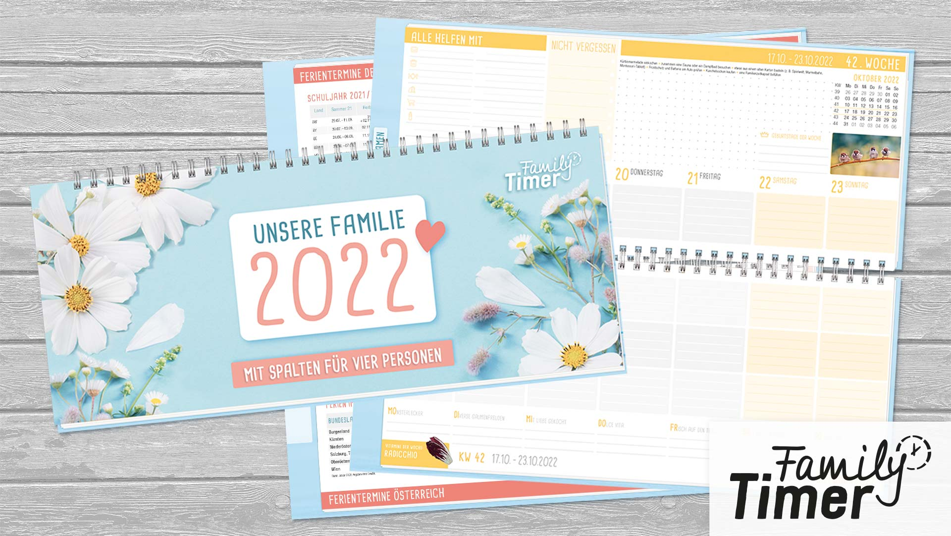 Family-Tischkalender 2022_Überblick