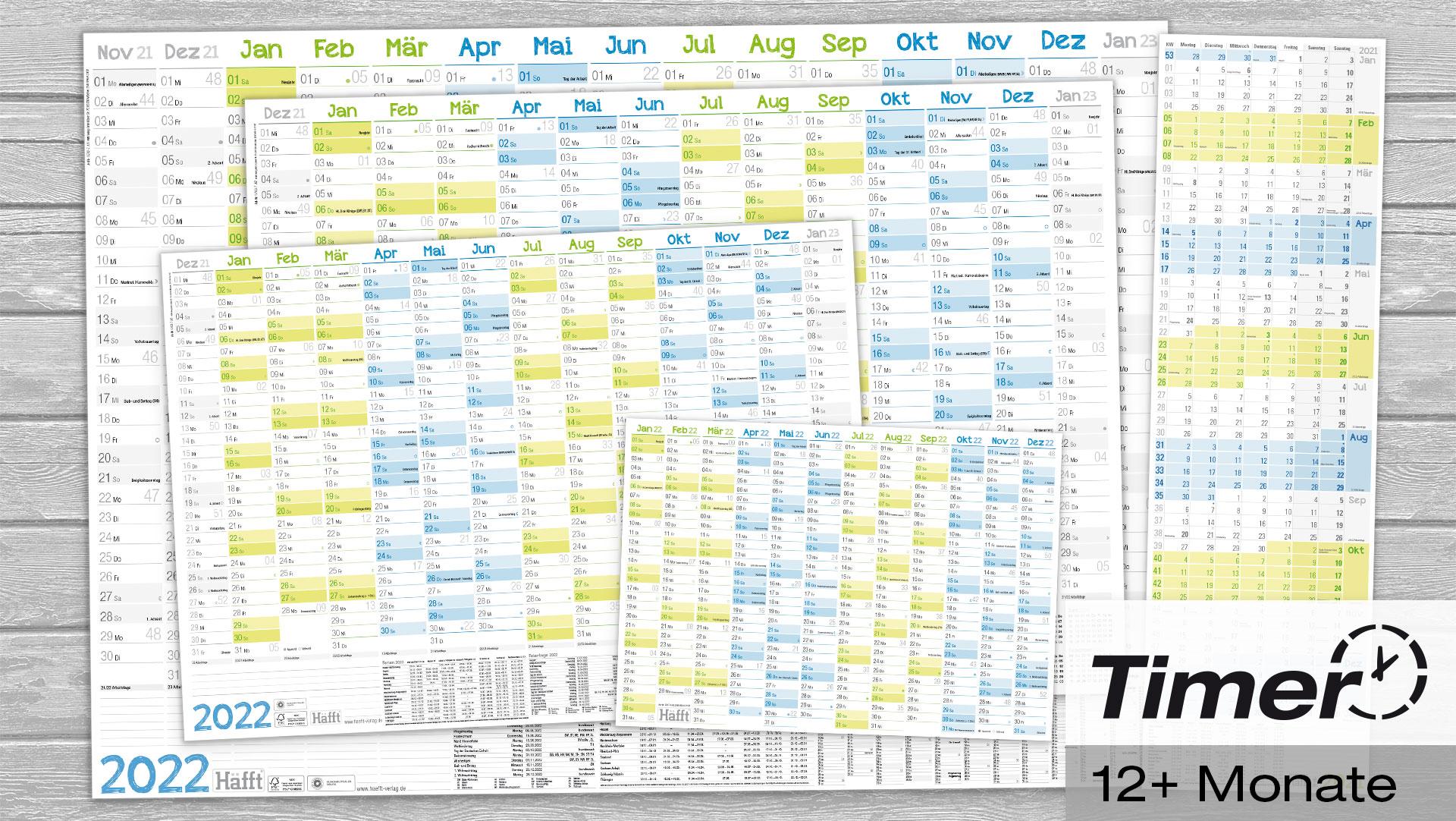Wandkalender 2021 2022