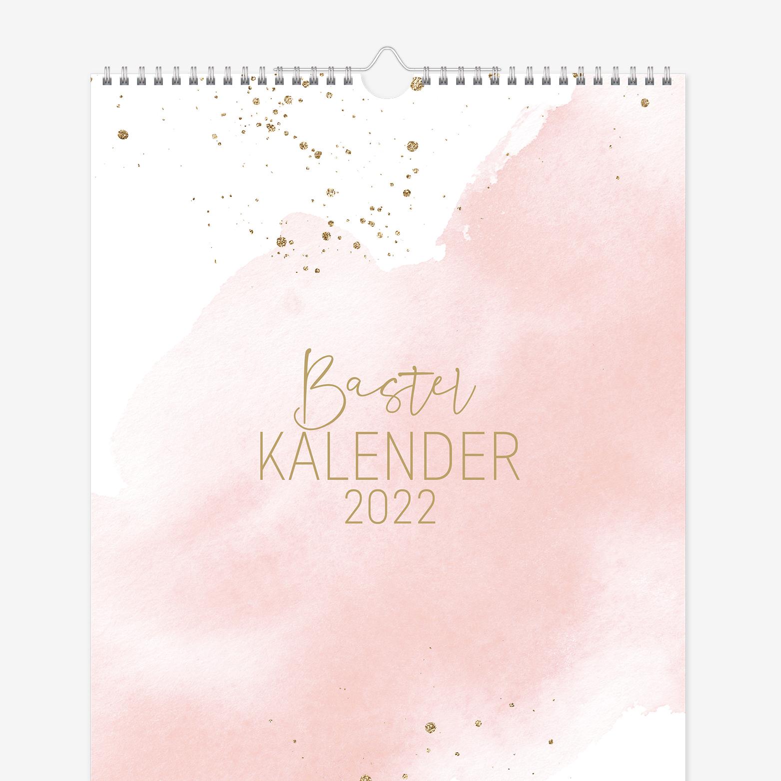A4 Bastelkalender Trendstuff by Häfft