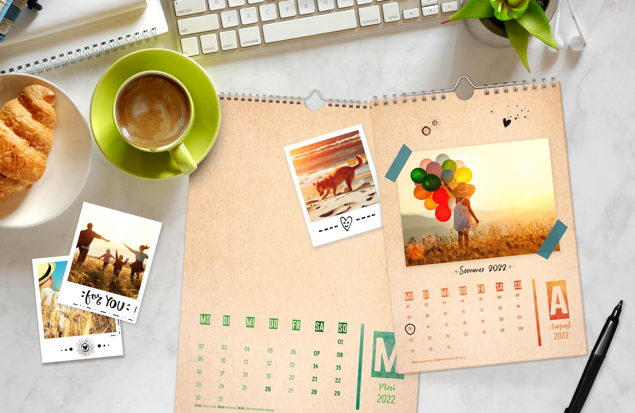 Bastelkalender vom Häfft Verlag in A4